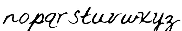 Rai Regular Font LOWERCASE
