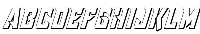 Raider Crusader 3D Font UPPERCASE