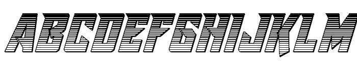 Raider Crusader Chrome Font UPPERCASE