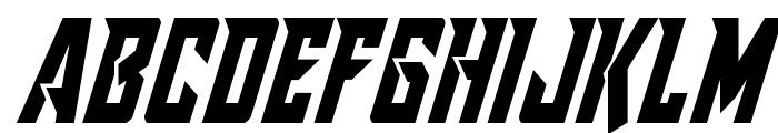 Raider Crusader Condensed Font UPPERCASE