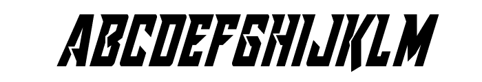 Raider Crusader Condensed Font LOWERCASE