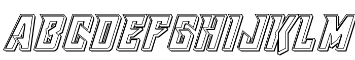 Raider Crusader Engraved Font UPPERCASE