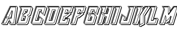 Raider Crusader Engraved Font LOWERCASE