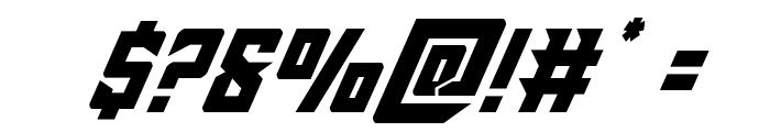 Raider Crusader Italic Font OTHER CHARS