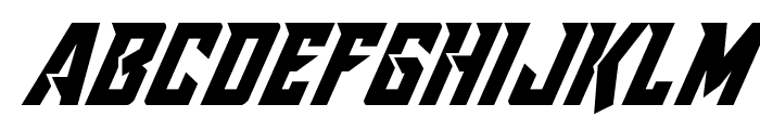 Raider Crusader Italic Font LOWERCASE