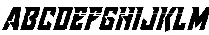 Raider Crusader Laser Font UPPERCASE