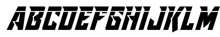 Raider Crusader Laser Font LOWERCASE