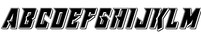 Raider Crusader Punch Font UPPERCASE