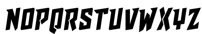 Raider Crusader Rotalic Font UPPERCASE