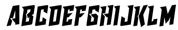 Raider Crusader Rotalic Font LOWERCASE