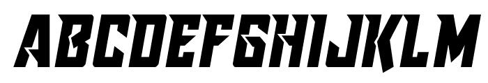 Raider Crusader Semi-Straight Font LOWERCASE