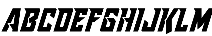 Raider Crusader Shift Down Font UPPERCASE
