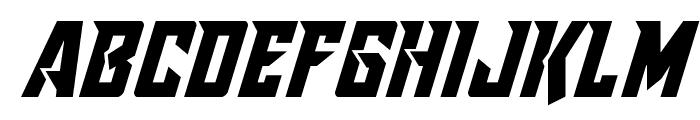 Raider Crusader Shift Down Font LOWERCASE