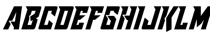 Raider Crusader Shift Up Font UPPERCASE