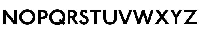 Railway-Semibold Font UPPERCASE