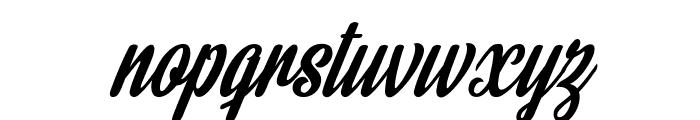 Rainbow Bridge Personal Use Font LOWERCASE
