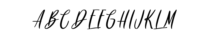 Rainbow Dreams - Personal Use Font UPPERCASE