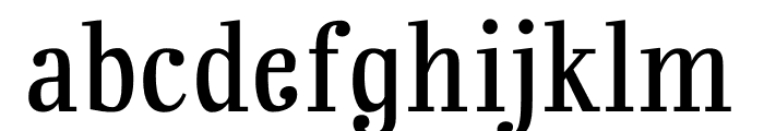 Rainbow Mansion lining figures Font LOWERCASE