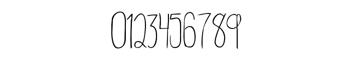 RainyDay-Regular Font OTHER CHARS
