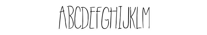 RainyDay-Regular Font UPPERCASE