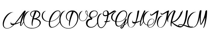 Raisin des Sables Font UPPERCASE