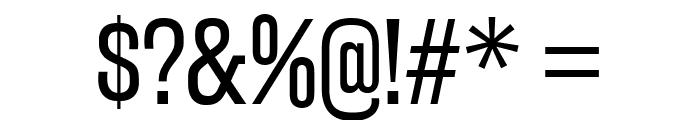 RakeslyBk-Regular Font OTHER CHARS