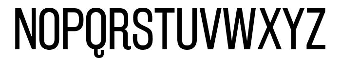 RakeslyBk-Regular Font UPPERCASE