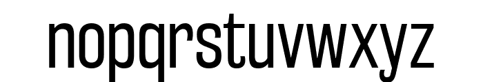 RakeslyBk-Regular Font LOWERCASE