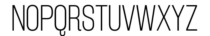 RakeslyEl-Regular Font UPPERCASE