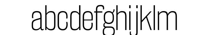 RakeslyEl-Regular Font LOWERCASE