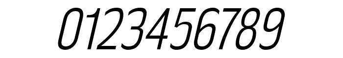 RakeslyLt-Italic Font OTHER CHARS