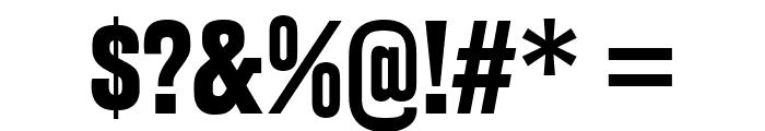 RakeslyRg-Bold Font OTHER CHARS