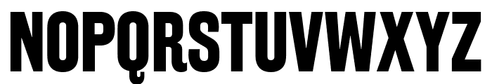 RakeslyRg-Bold Font UPPERCASE