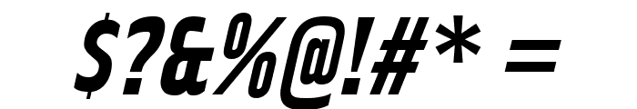 RakeslyRg-BoldItalic Font OTHER CHARS