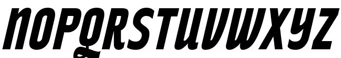 RakeslyRg-BoldItalic Font UPPERCASE