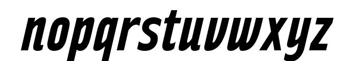 RakeslyRg-BoldItalic Font LOWERCASE