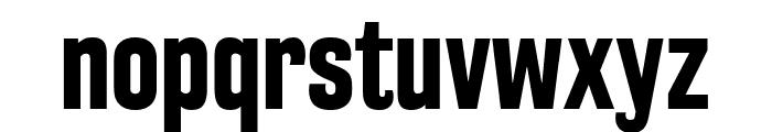 RakeslyRg-Bold Font LOWERCASE