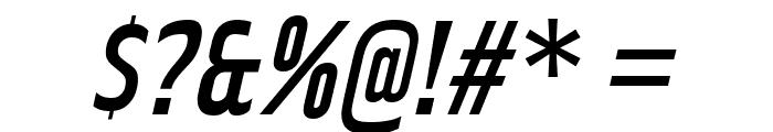 RakeslyRg-Italic Font OTHER CHARS