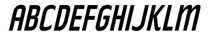RakeslyRg-Italic Font UPPERCASE