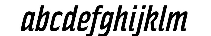 RakeslyRg-Italic Font LOWERCASE