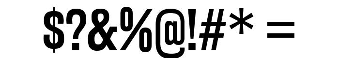 RakeslyRg-Regular Font OTHER CHARS