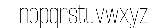 RakeslyUl-Regular Font LOWERCASE