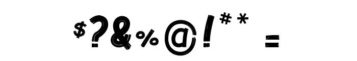Raku Font OTHER CHARS