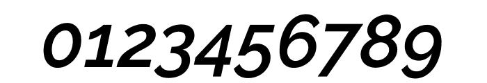 Raleway SemiBold Italic Font OTHER CHARS