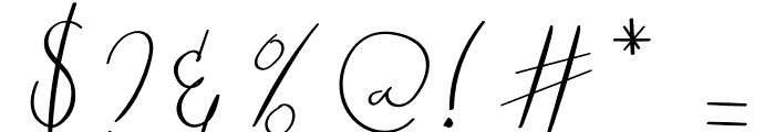 Raliangi Font OTHER CHARS