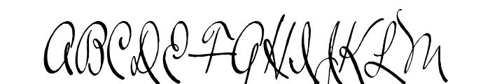 Ralph Walker Font UPPERCASE