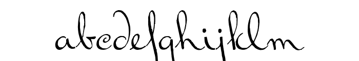Ralph Walker Font LOWERCASE