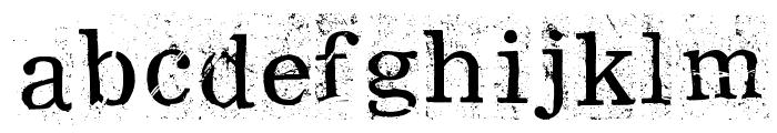RamRod Font LOWERCASE