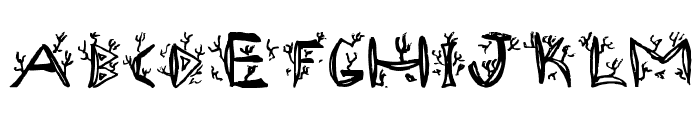 Ramada1 Font UPPERCASE