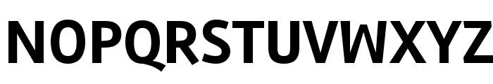 Rambla Bold Font UPPERCASE